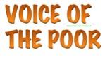 Voice of the Poor Webinar THURSDAY 4/20